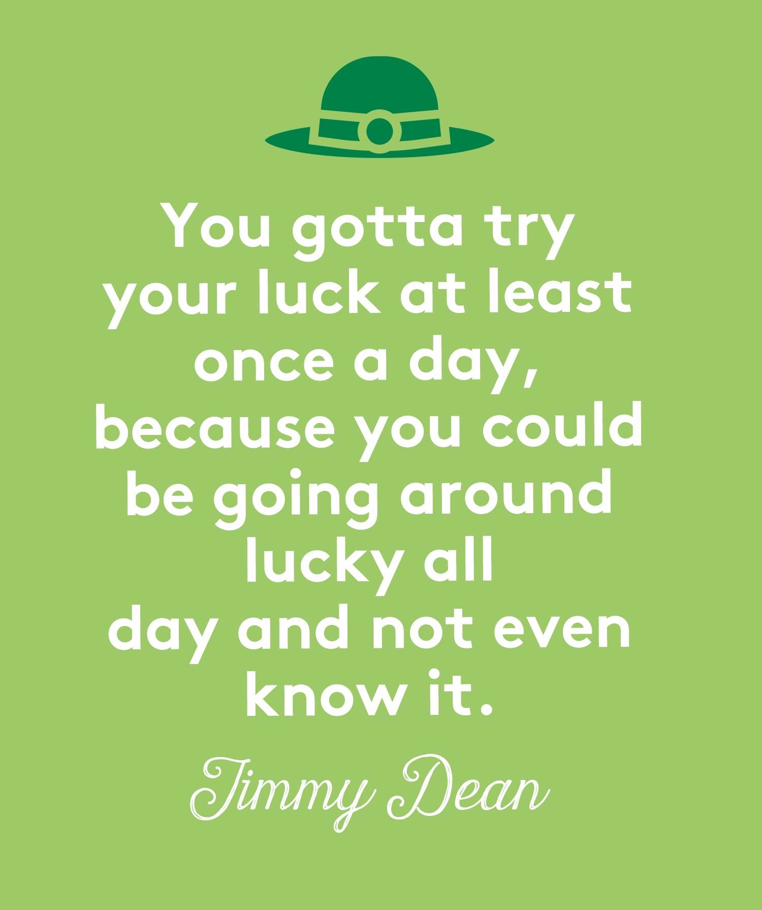St. Patrick's Day Quotes, Dean