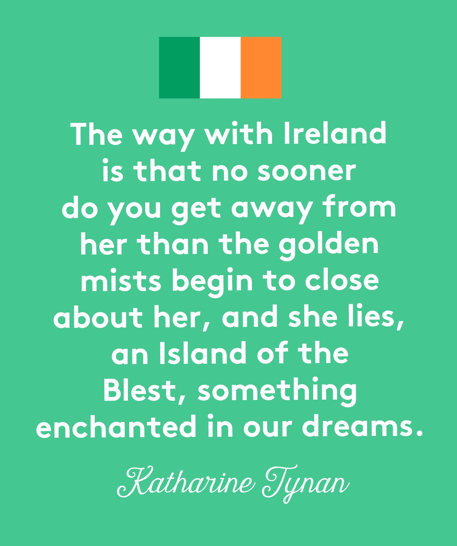 St Patrick's Day Quotes, Tynan
