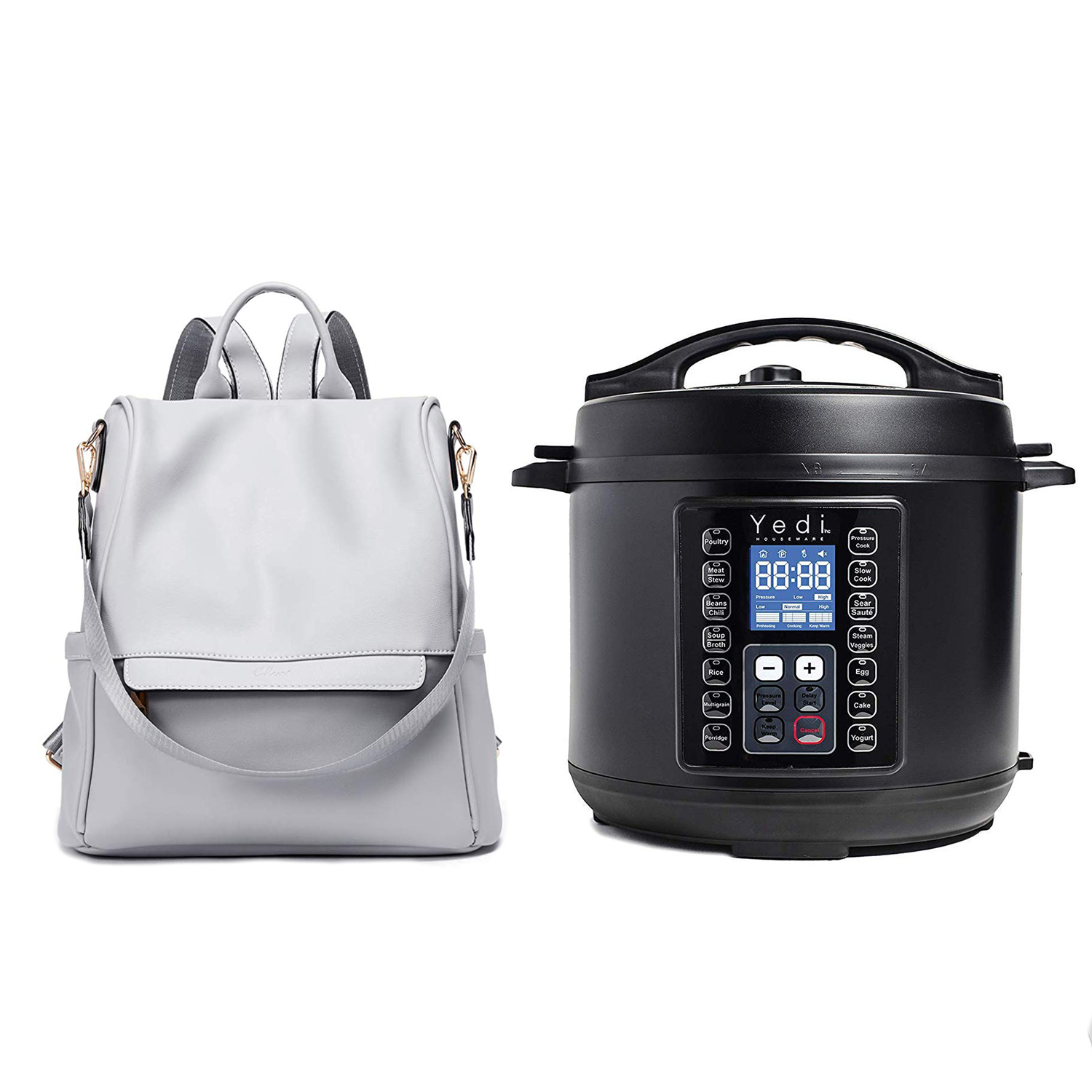 Backpacks Anti-theft Large and Yedi 9-in-1Instant Programmable Pressure Cooker