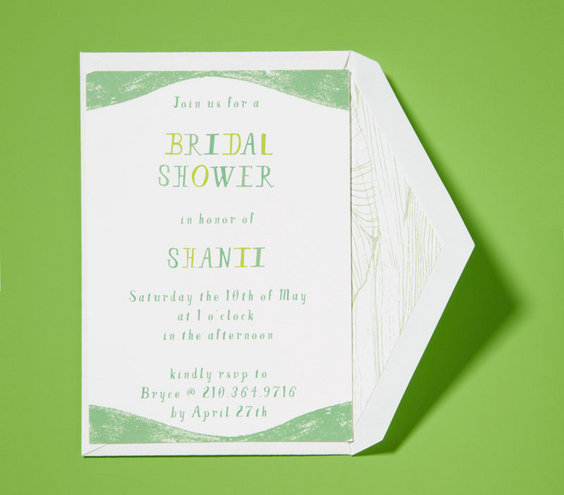 Who Hosts the Bridal Shower – When to Mail Wedding Shower Invitations