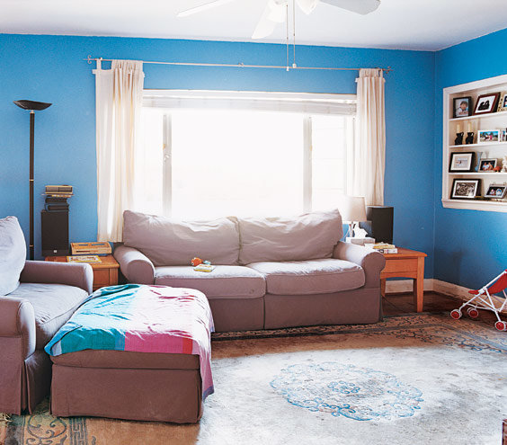 Before   14 Living-Room and Dining-Room Makeovers   Real Simple