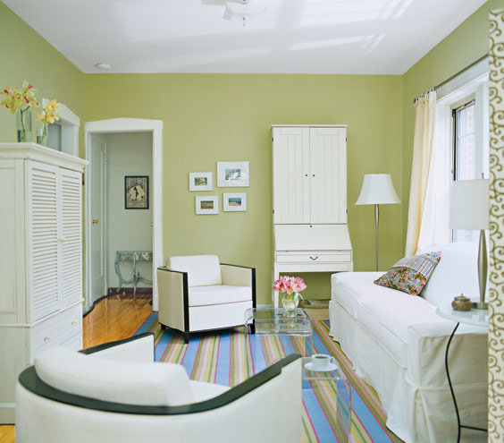 Trick A Small Space Into Feeling Bigger | 40 Living Room