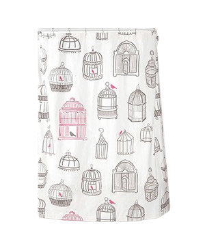 Birdcage Shower Curtain   8 Stylish Shower Curtains   Real Simple