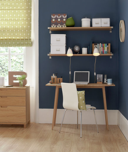 17 surprising home office ideas real simple - Home Office Desk Designs
