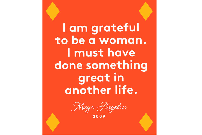 Happy Women's Day Quotes, Maya Angelou