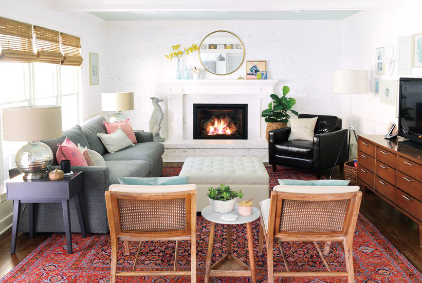 5 Storage Ottomans Designers Are Loving Right Now | Real Simple