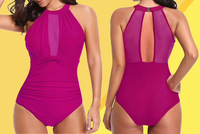 3edf3b9df27f8 Tempt Me Bathing Suit Is Amazon's Best One-Piece Swimsuit | Real Simple