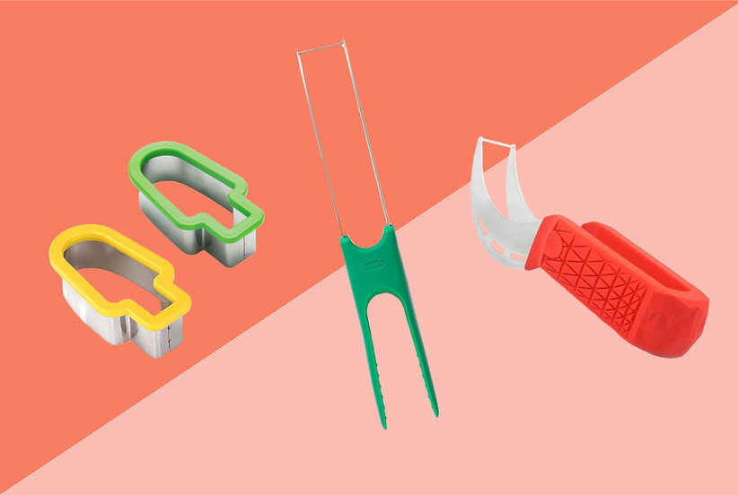 TXIN Watermelon Slicer Popsicle Shape, Chef'n Watermelon Slicester, Sleeké Watermelon Slicer and Tong