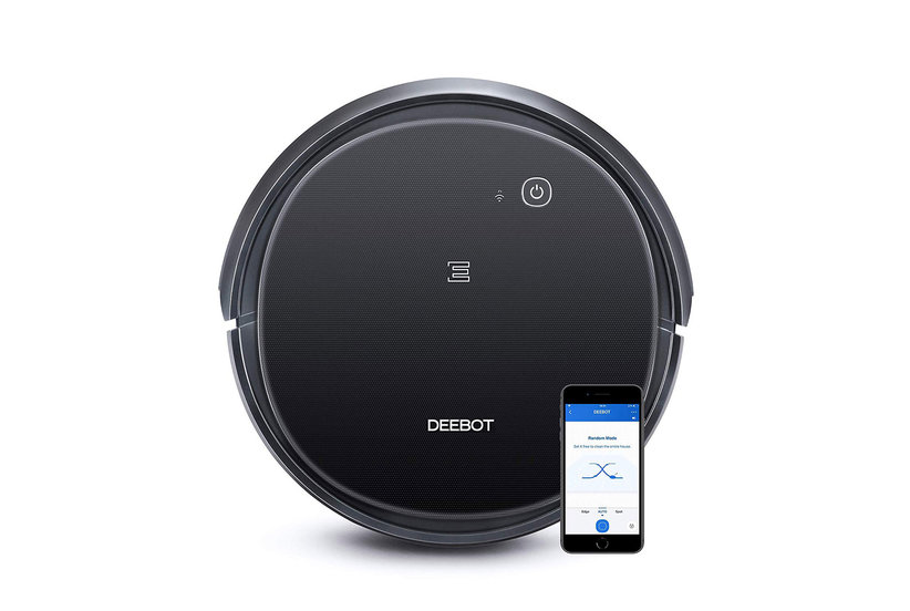 Ecovacs Deebot 500 Robot Vacuum Cleaner and Echo Dot Bundle