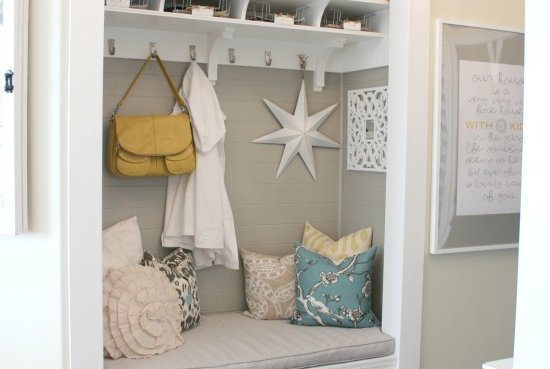 5 Ways To Fake A Mudroom Real Simple