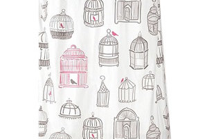 Birdcage Shower Curtain | 8 Stylish Shower Curtains | Real Simple