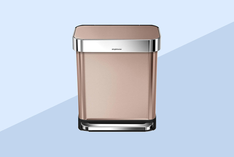 Best Rose Gold Trash Can on Amazon - SimpleHuman Rose Gold ...