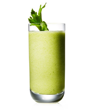 Celery, Cucumber, and Pineapple Smoothie
