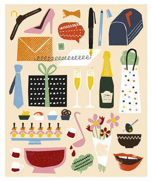 illustration-party-things
