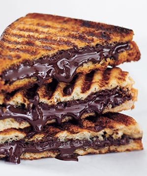 grilled-chocolate-sandwich