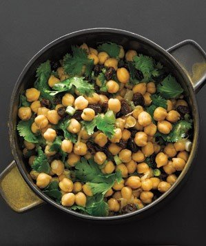 chickpea-raisin-salad