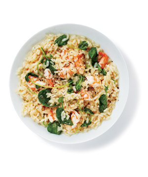 risotto-shrimp-watercress