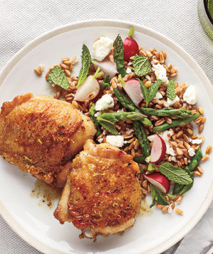 chicken-thighs-farro