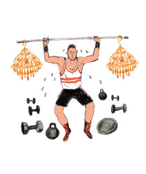 illustration-man-lifting-earring-weights