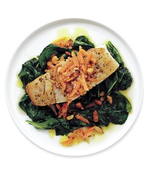 cod-spinach-carrot