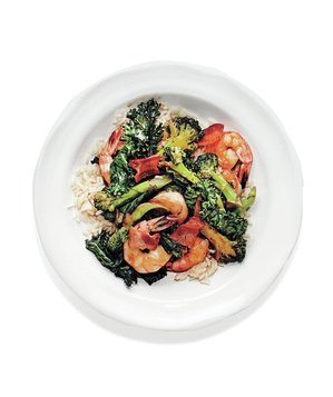 shrimp-bacon-broccoli-stir-fry