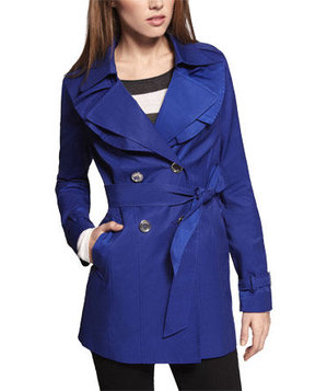 blue-ruffled-trench-coat