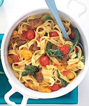 Recipes using italian sausage and pasta