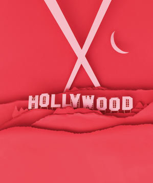 paper-sculpture-hollywood-sign