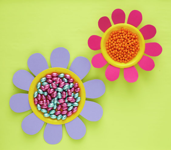 How To: Make Blooming Bowls | Easy Easter Crafts for Kids | Real ...