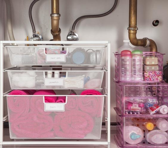 Organize Cosmetics  amp  Toiletries  The Strategy. Organize Cosmetics  amp amp  Toiletries  The Strategy   Easy Under the