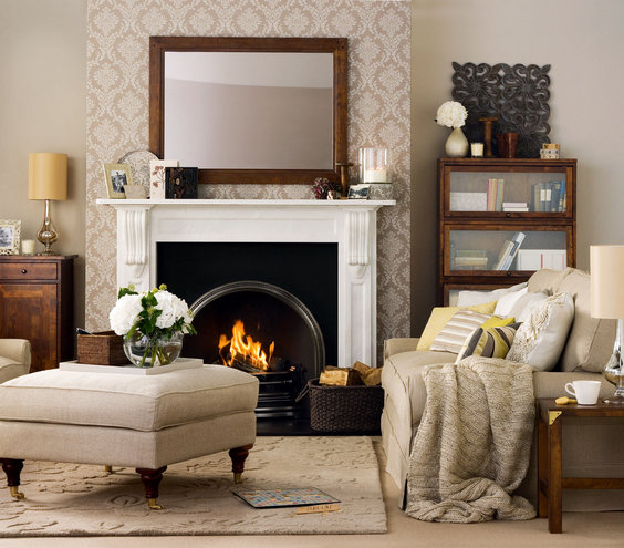 Warm and inviting 33 modern living room design ideas for Warm inviting living room ideas