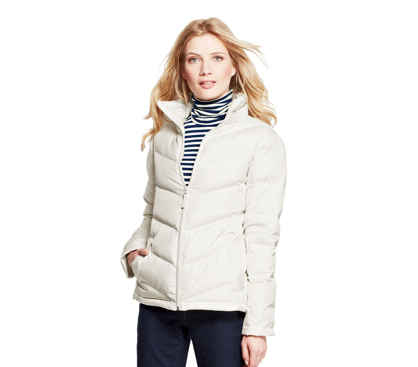 Lands' End Women's Down Jacket | 6 Affordable Down Jackets | Real