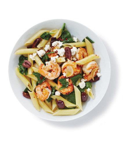 Shrimp spinach pasta recipes healthy
