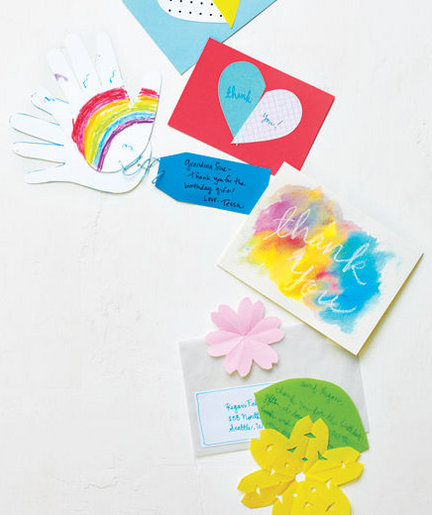 5 Tips for Writing Thank-You Notes With Kids - Real Simple
