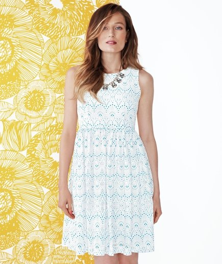 The Embroidered Eyelet  7 Cute Summer Dresses  Real Simple