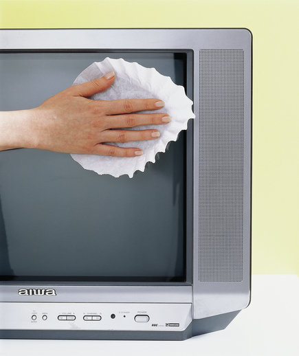 how to clean coffee filter screen