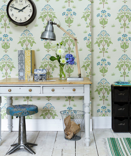 Brilliant Flower Power 17 Surprising Home Office Ideas Real Simple Largest Home Design Picture Inspirations Pitcheantrous