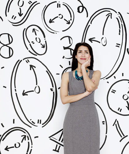 worried-woman-clock-wall