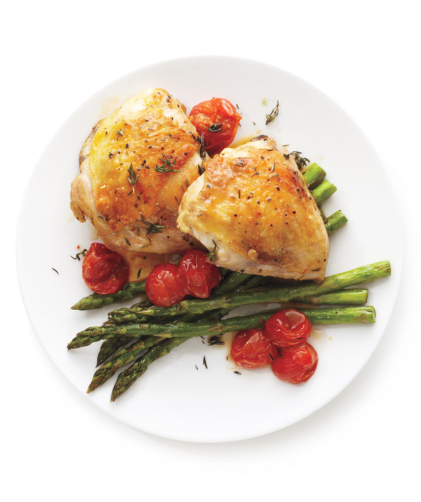 Easy healthy baked chicken thigh recipes