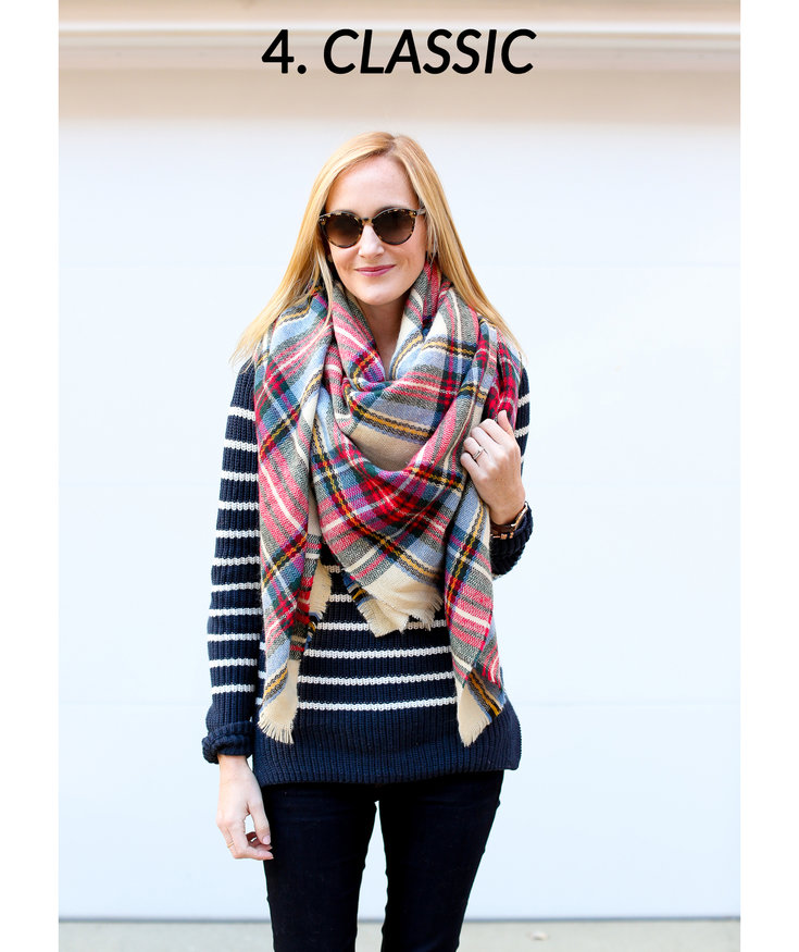 11 Tips for How to Wear and Tie a Blanket Scarf | Real Simple